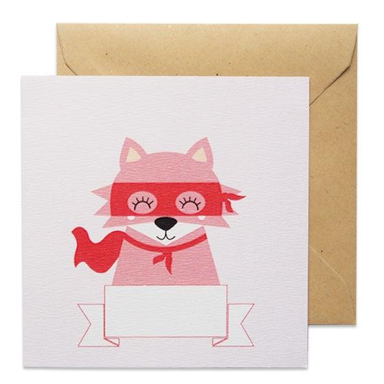 Image of Carte Happy Day Renard