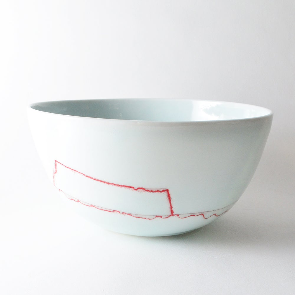 Image of deep serving bowl