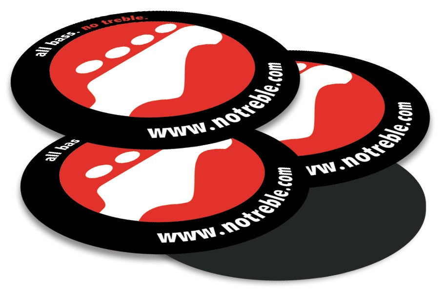 Image of No Treble Logo Magnets (New!)