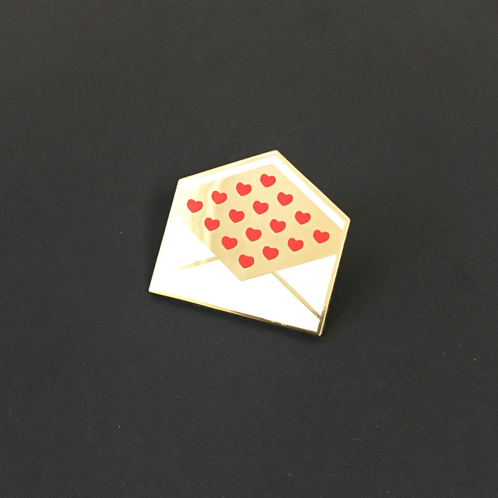 Image of Love Letter Pin
