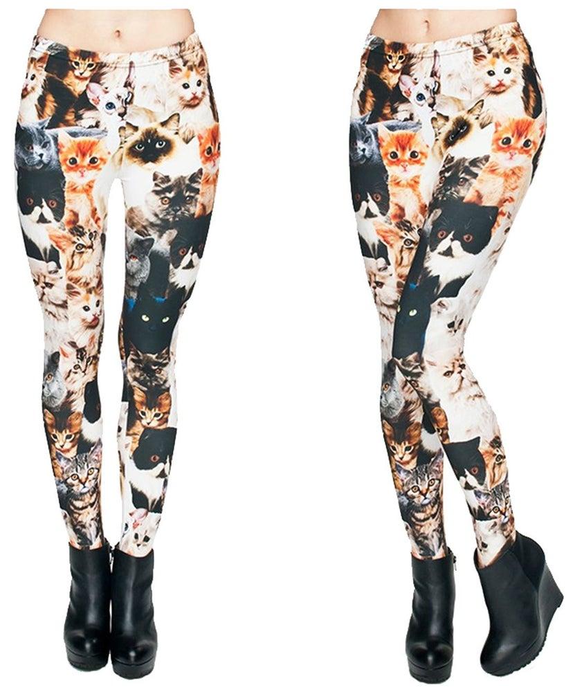 Image of Cat leggings