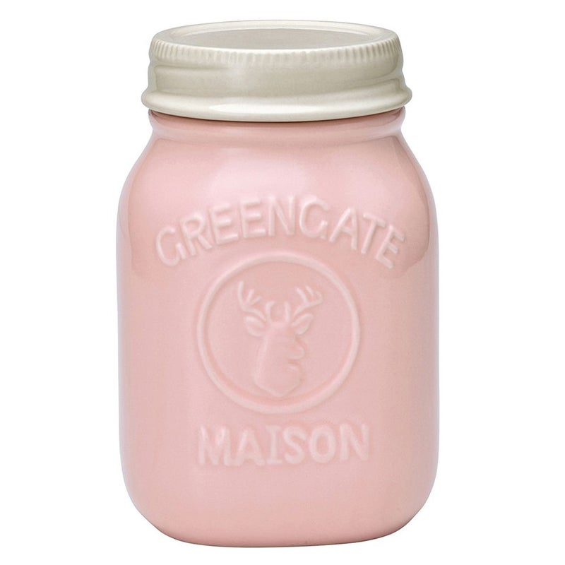 Image of GreenGate Maison Jar ~ Pale Pink