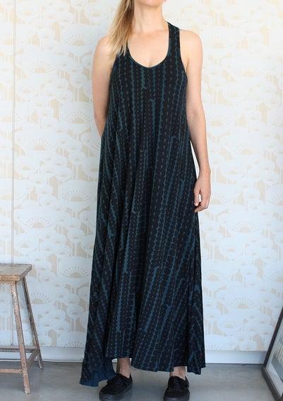 Image of Bead Print Tank Dress
