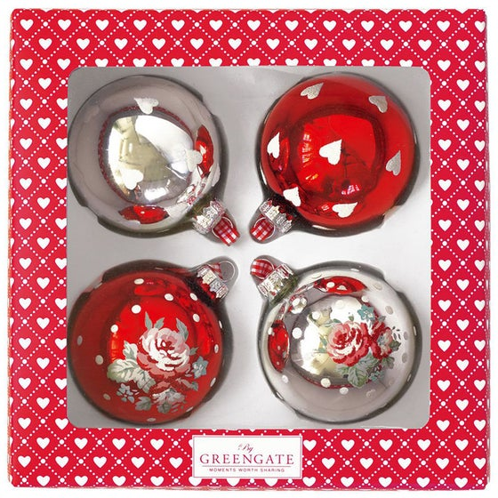 Image of GreenGate Christmas Baubles ~ Round