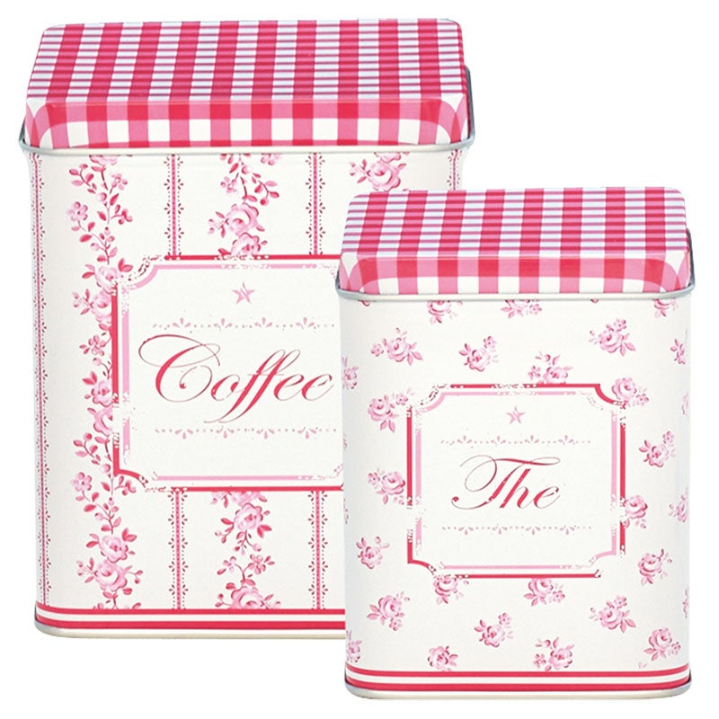 Image of GreenGate Tin Box Set ~ Audrey Raspberry