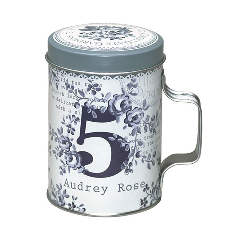 Image of GreenGate Tin Flour Shaker ~ Audrey Grey