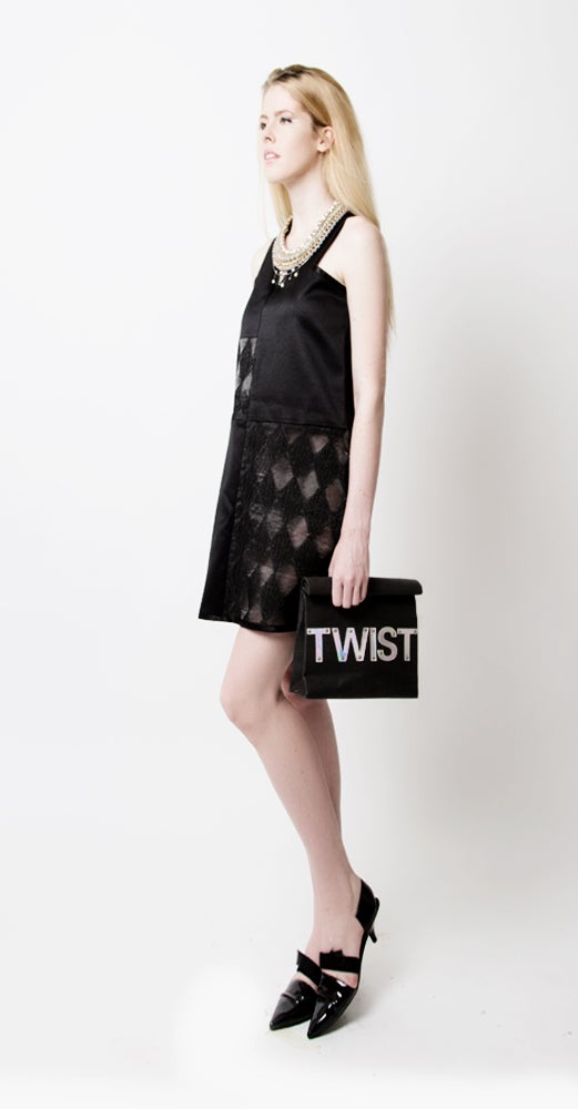 Image of Bailey Contrast Dress