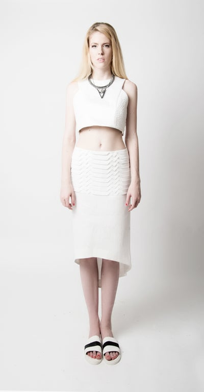 Image of Rannex Pleated Skirt