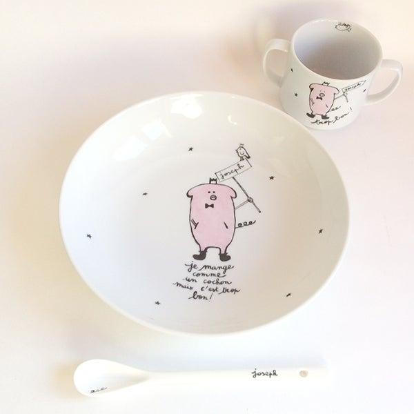 Image of Ensemble Je mange comme un cochon