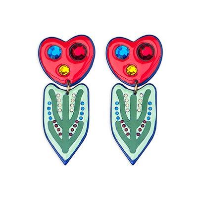 Image of Galateus Stem earrings