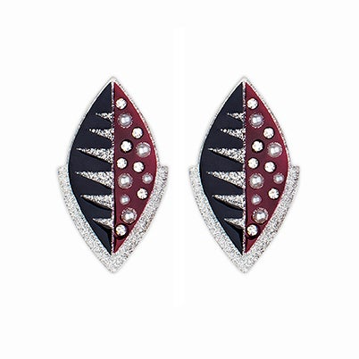 Image of Bespangled pot earrings