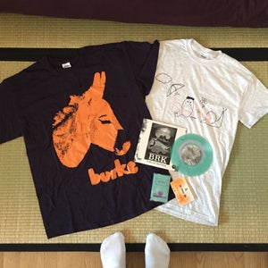 "Image of Burke (7""/Tapes/Shirts)"