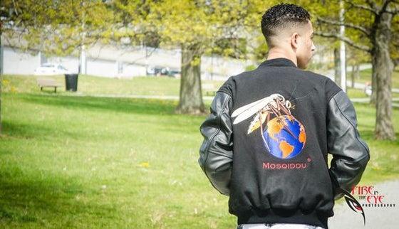 Image of Genesis (Wool & Leather) Varsity Jacket