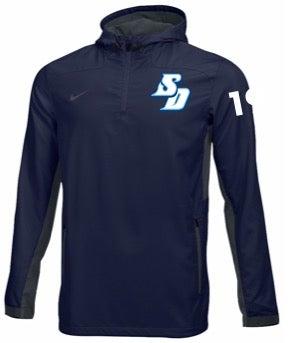 Image of Player - Nike 1/4 Zip Lacrosse Jacket