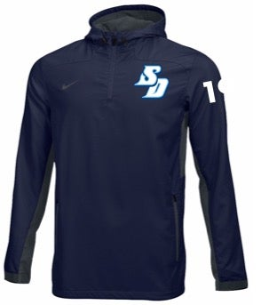 Image of Player - Nike 1/4 Zip Lacrosse Jacket