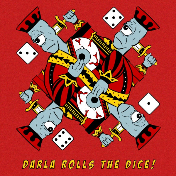 Image of Darla Rolls The Dice! CD