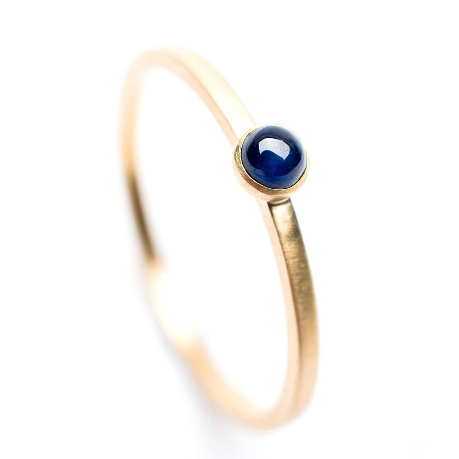 Image of Indian Summer Ring Blue Sapphire