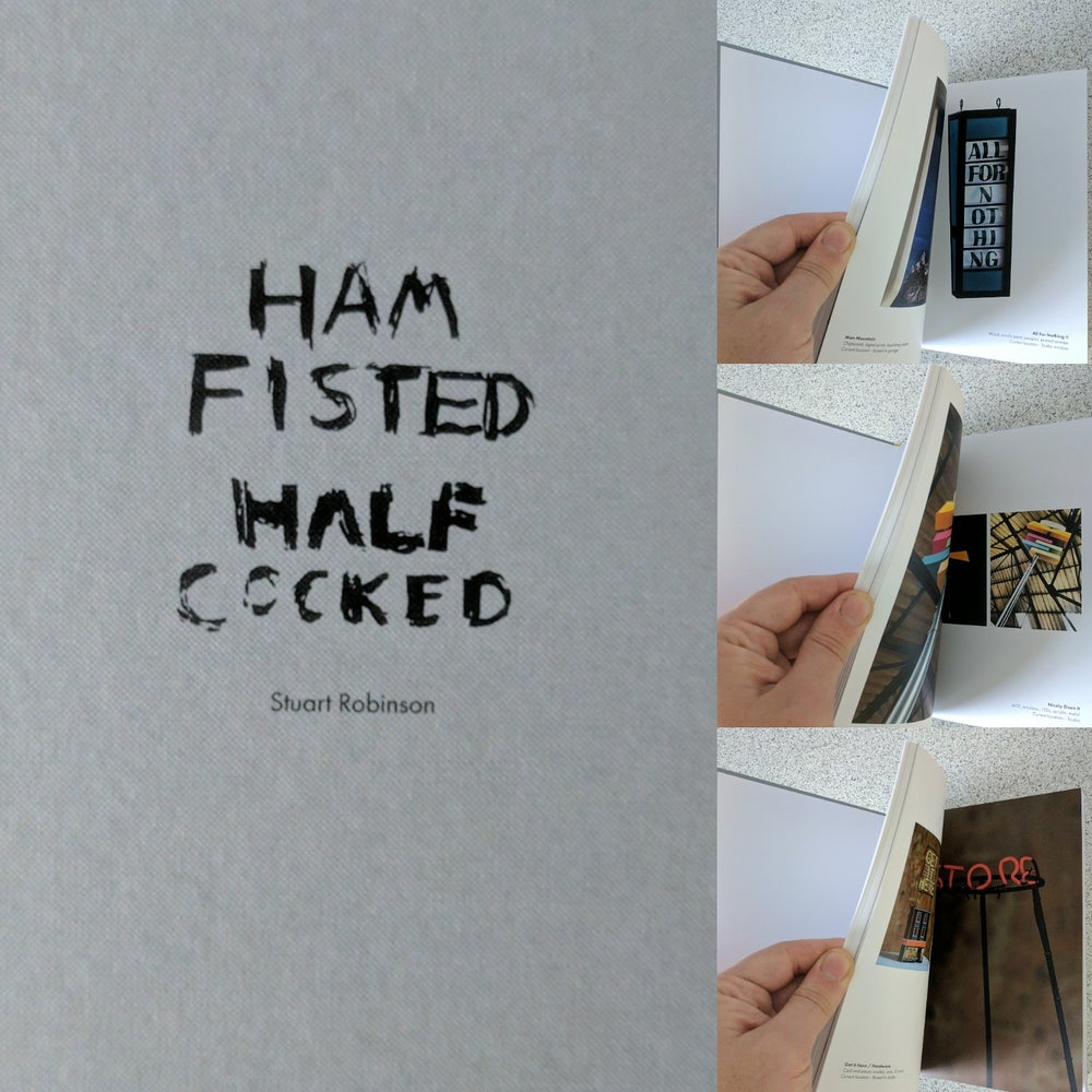 Image of Ham Fisted Half Cocked Book