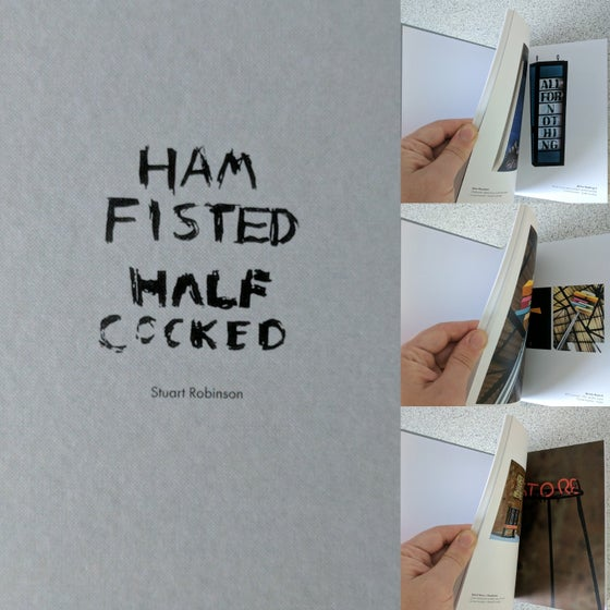 Image of Ham Fisted Half Cocked Book (Was £13)