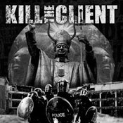 Image of Kill the Client / Feastem Split LP Limited white vinyl