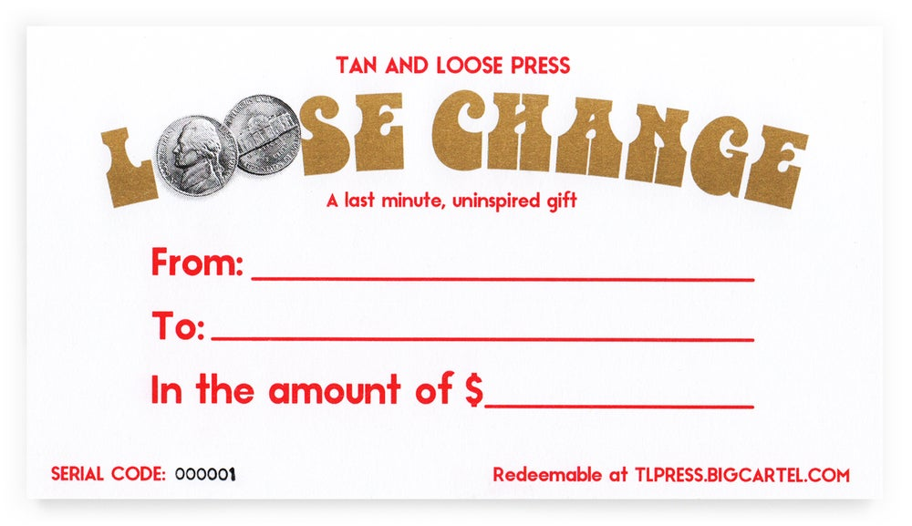 Image of Tan & Loose Gift Certificate
