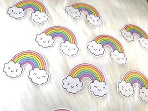Image of Happy Rainbow Sticker