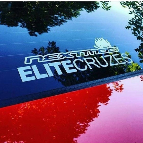 Image of SMALL ELITE CRUZES DECAL