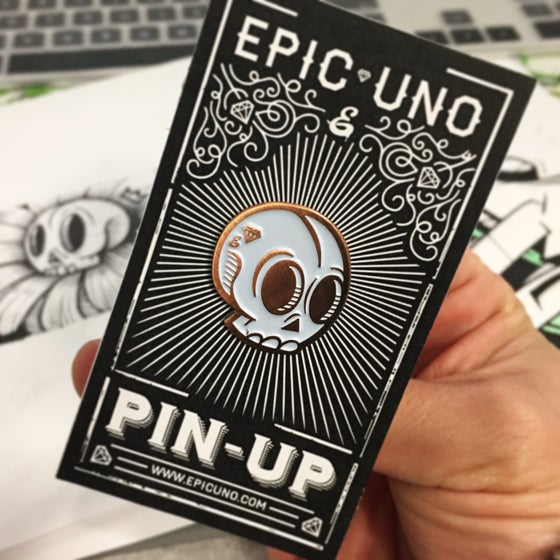 Image of EPIC SKULL PIN