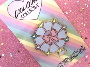 Image of Ferris Wheel V. 1 Enamel Pin