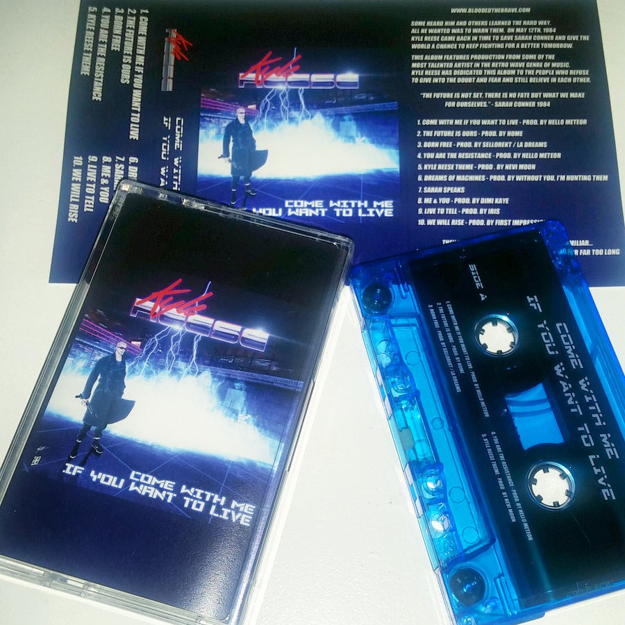 "Image of Exclusive Cassette | ""Come With Me If You Want To Live"""