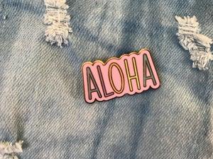 Image of ALOHA Enamel Pin