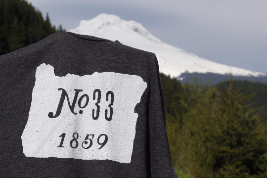 Image of Oregon No.33 Tee