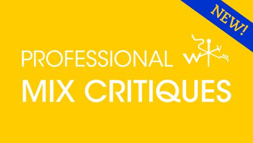 Image of Professional Mix Critique