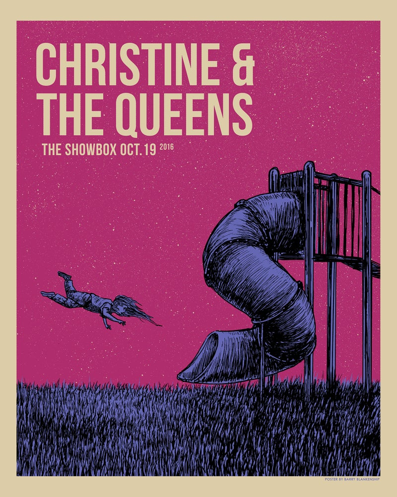 Image of Christine & The Queens Showbox