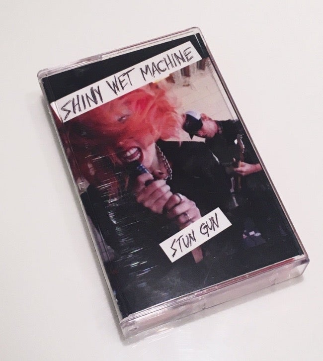 "Image of Shiny Wet Machine- Limited Edition ""Stun Gun"" Cassette Tape"