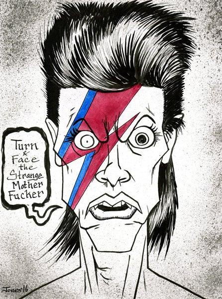 Image of 'David Bowie' Original Painting