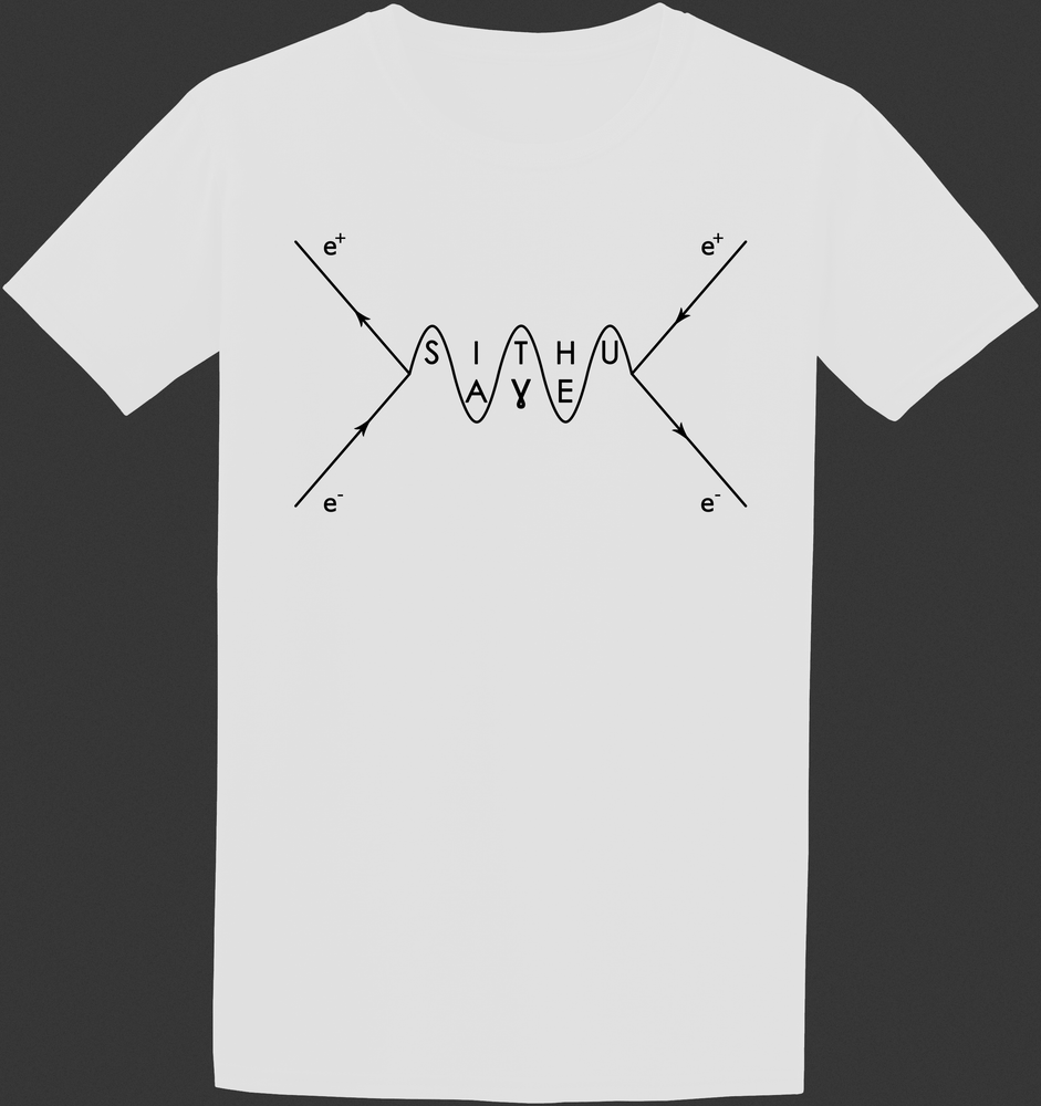 Image of Feynman Logo T-Shirt White