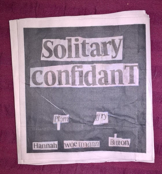 Image of Solitary Confidant