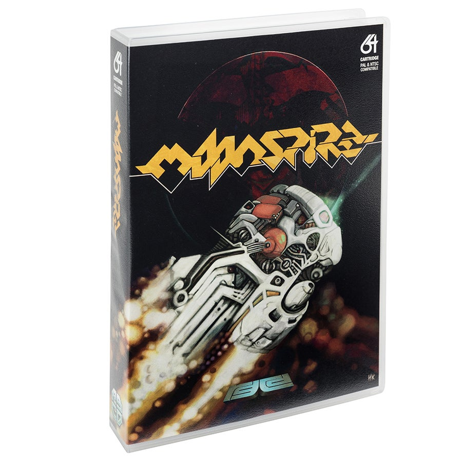 Image of Moonspire (Commodore 64)