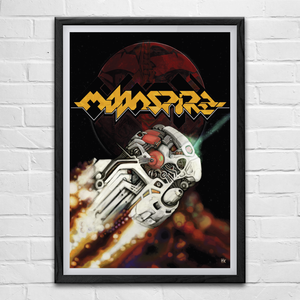 Image of Moonspire (A2/A3 Poster Bundle) (Commodore 64)