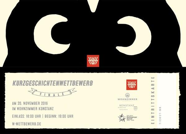 Image of W.-Kurzgeschichtenwettbewerb FINALE  Tickets - Eintrittskarten