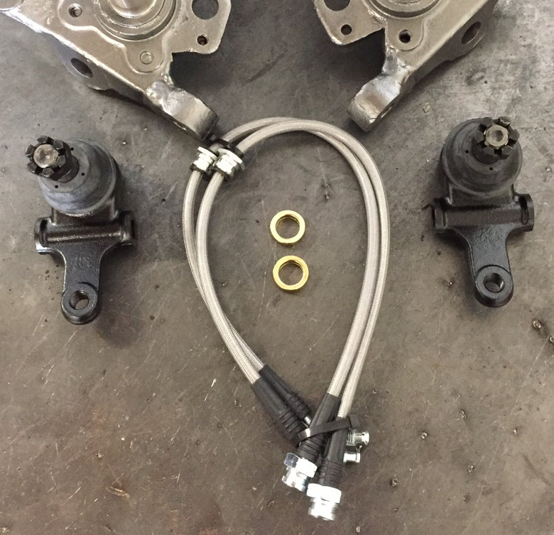 Image of Mazda Miata NA / NB Extended Lower Ball Joints / Extended Brake Lines