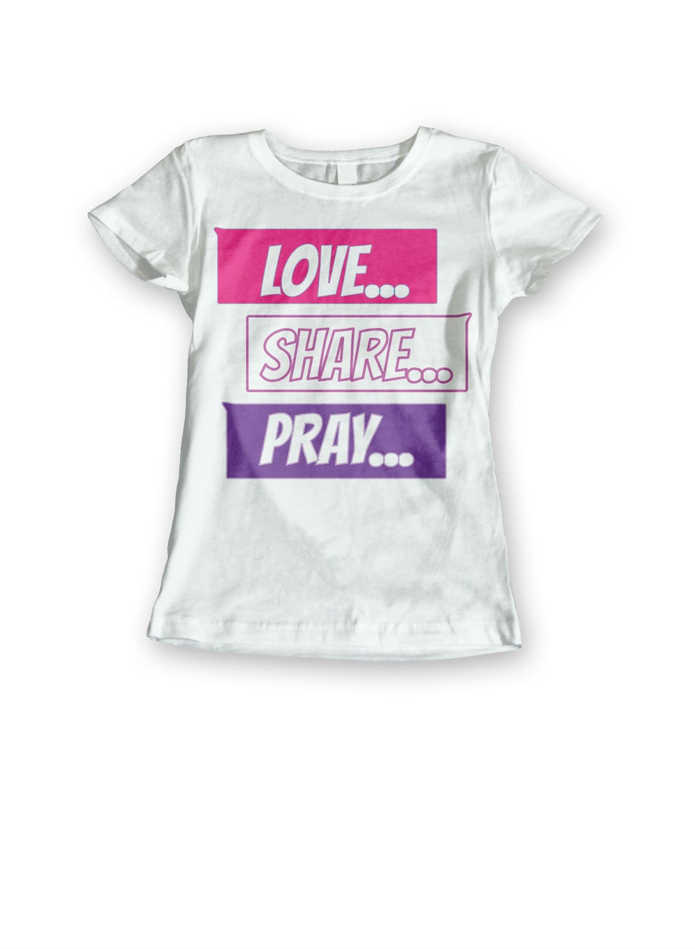 Image of Love Share Pray Chat Boxes