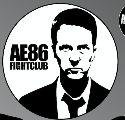 Image of Ed Norton Fightclub Sticker