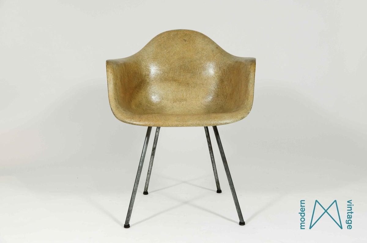 Original Eames Chair - Modern vintage amsterdam original eames furniture eames dax rope edge zenith plastics rare find great patina