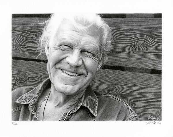 Image of BILLY JOE SHAVER giclée print