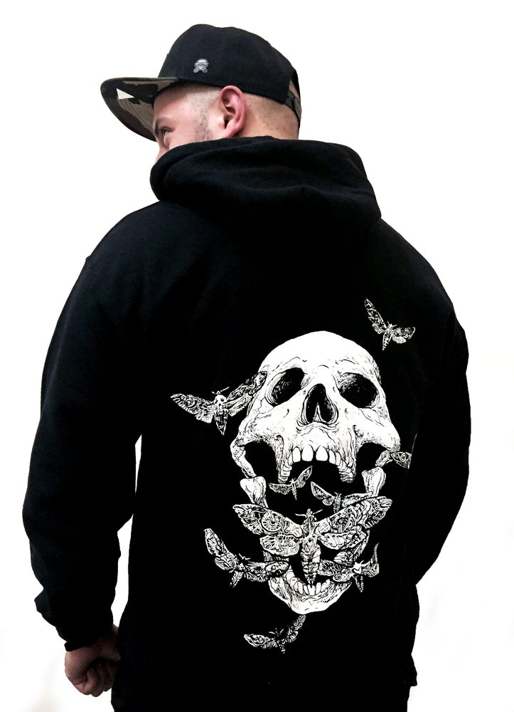 Image of MOTH SCREAM HOODIE (FREE SHIPPING)