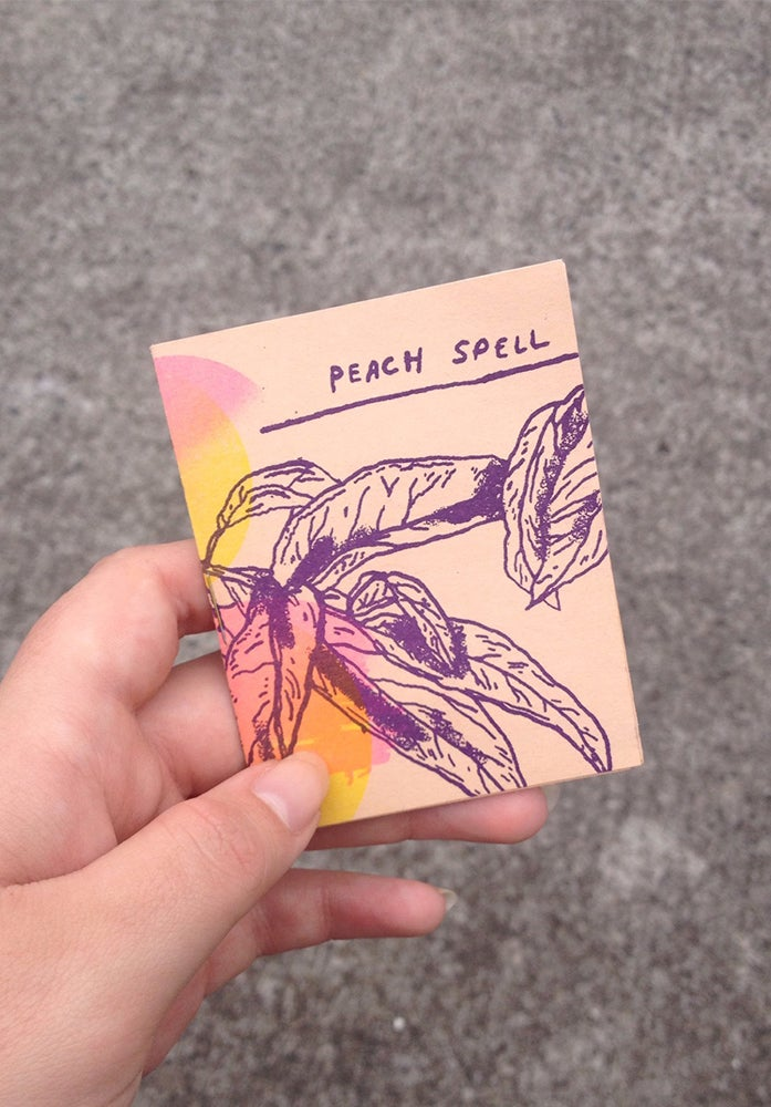 Image of Peach Spell by Sarah McNeil