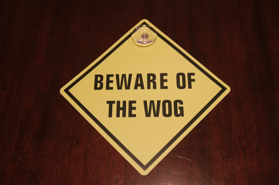 Image of Warning Sign