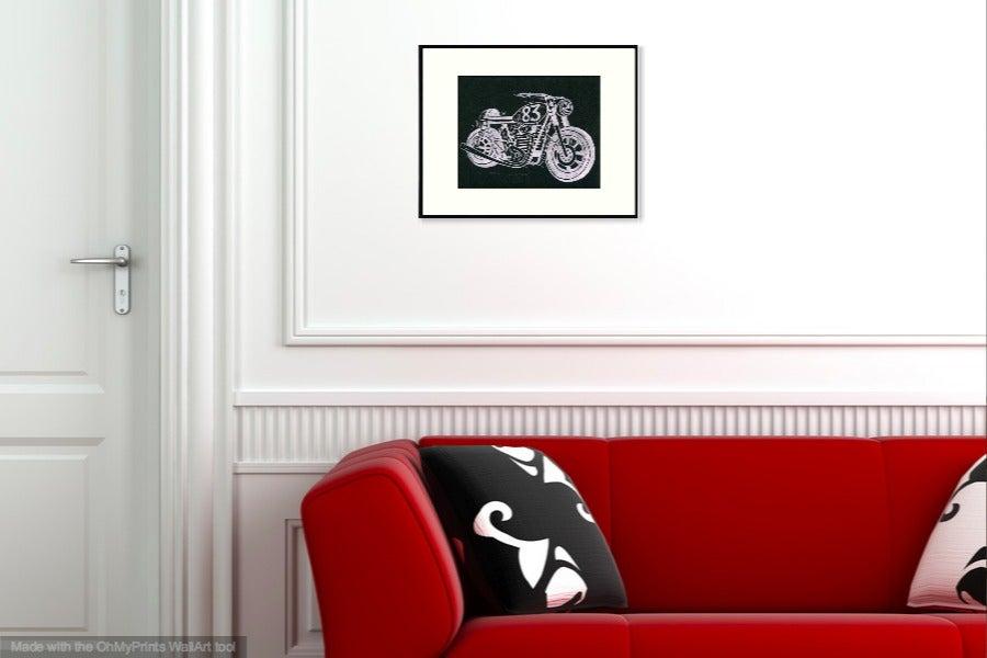 Image of Café XS Block Print